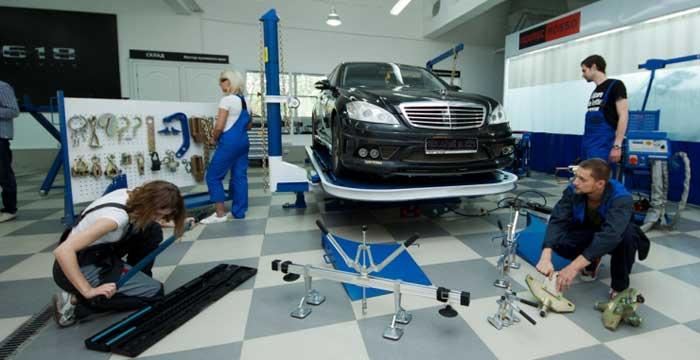 Кузовной ремонт автомобиля. Степени сложности ремонта. Методы их исправления