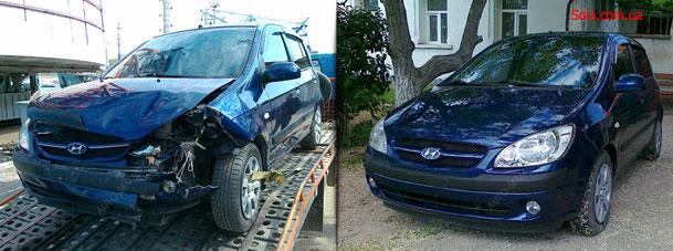Восстановление автомобиля после аварии