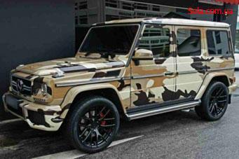 Покраска автомобиля в камуфляж